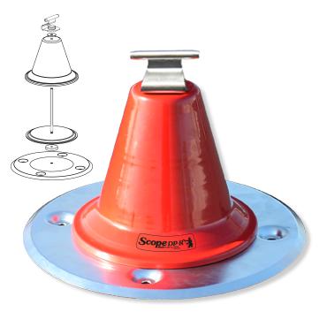 De Scope Multi DP-R, een component voor valbeveiliging/valbescherming voor op het dak.