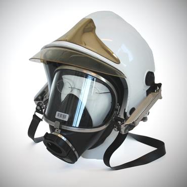 afbeelding van de ademluchtmasker-bril met helm