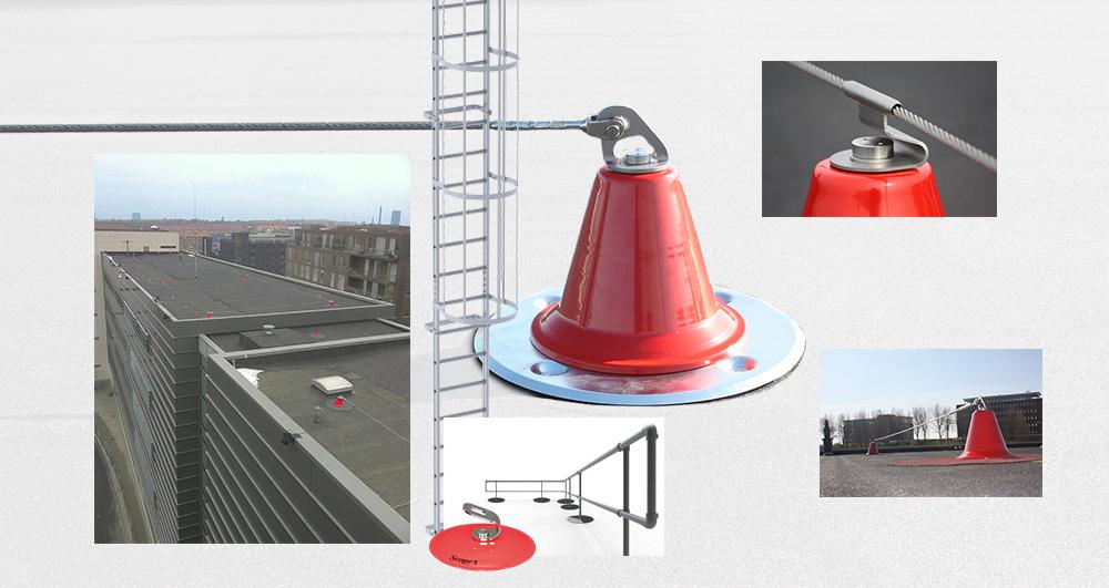 Afbeelding naar Scope dak valbeveiliging en lijnsystemen.